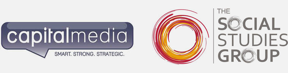 Capital Media logo & Social Studies Group logo